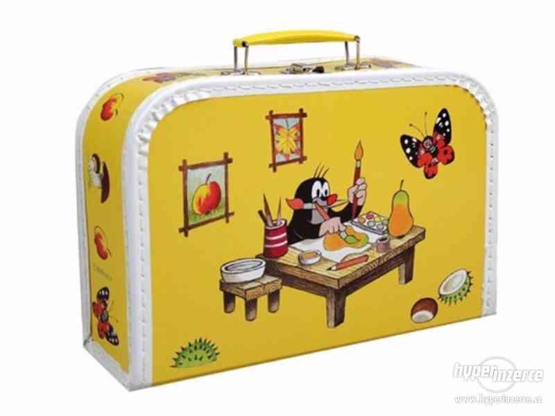 Prodám NOVÉ dětské kufříky s krtkem - foto 4