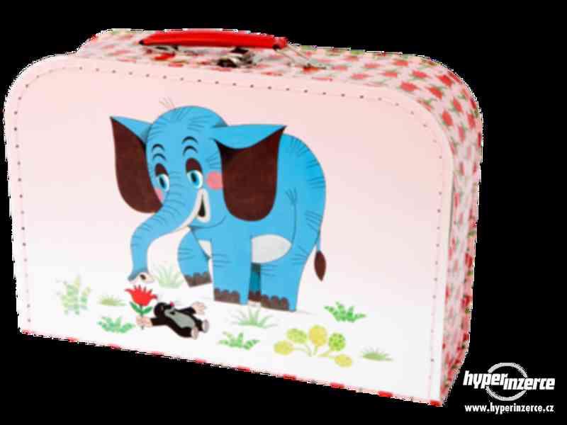 Prodám NOVÉ dětské kufříky s krtkem - foto 5