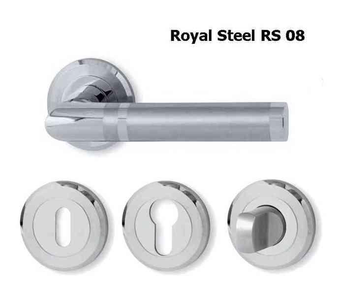 Dveřní kování Royal Steel  - foto 3