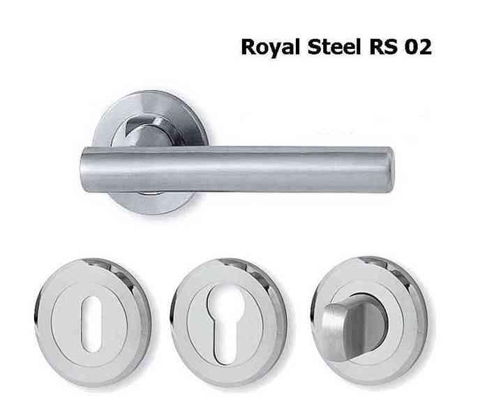 Dveřní kování Royal Steel  - foto 1