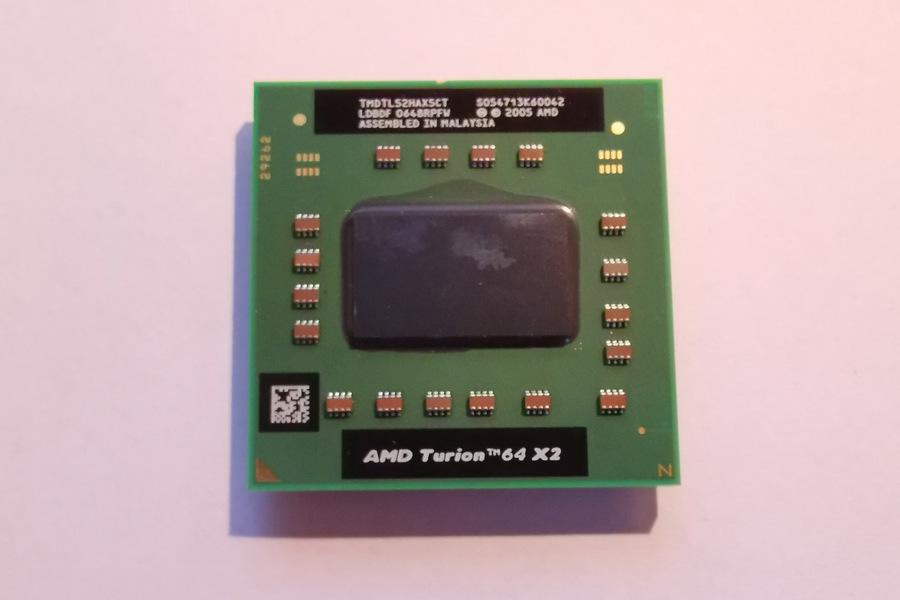 Procesor AMD Athlon 64 X2 Mobile TL-52 1.60GHz pro notebooky