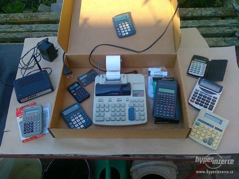 Wifi router + kalkulačky - foto 1