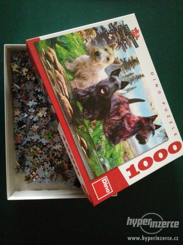 Puzzle 1000 ks pejsci