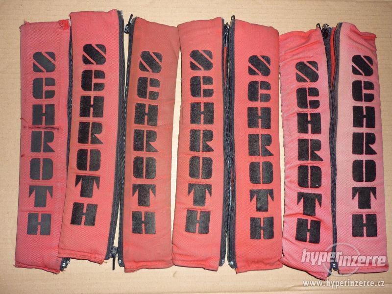 original SCHROTH návleky na pásy - foto 2