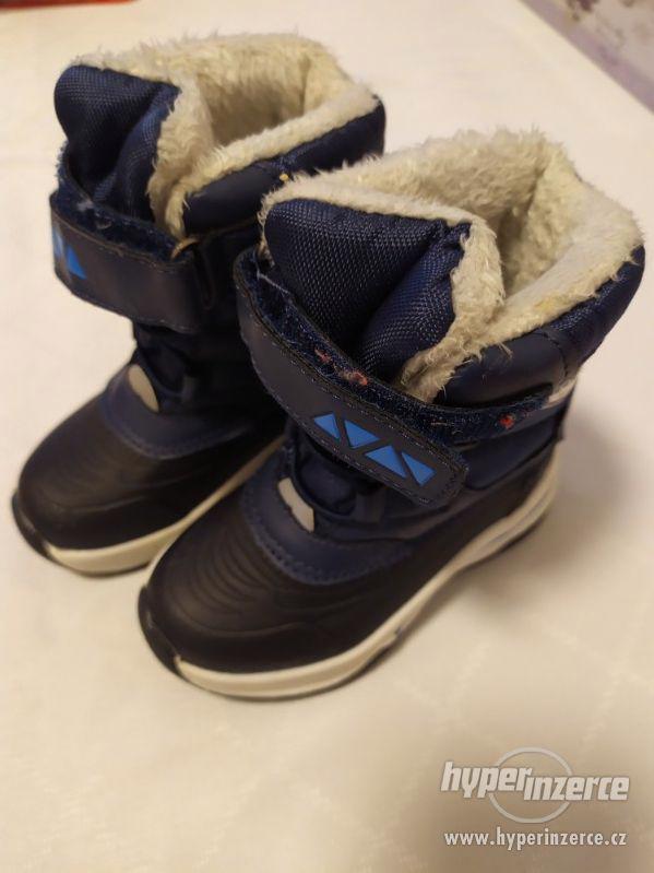 Zimní boty (vel. 21)