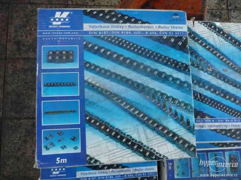 Válečkové řetězy 16B-1 RD(21mm) - foto 1