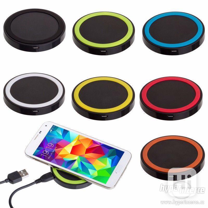 ! Bezdrátová QI nabíječka pro iPhone / Smartphone ! - foto 1