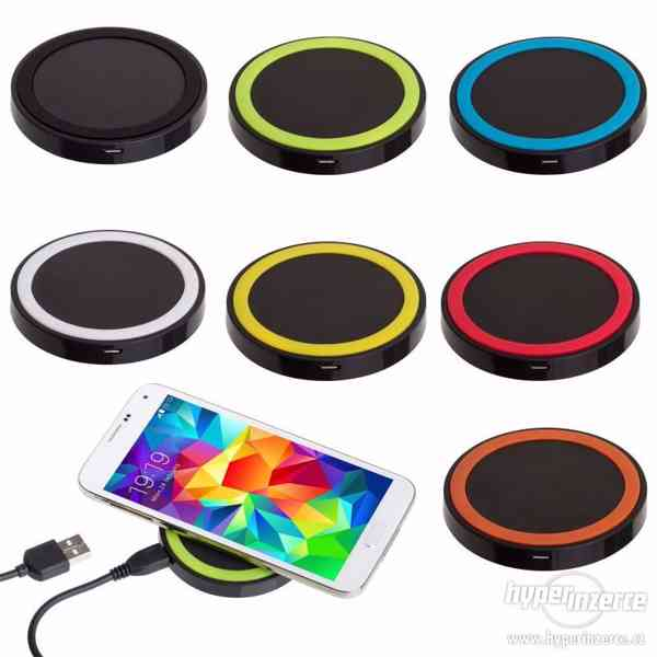 ! Bezdrátová QI nabíječka pro iPhone / Smartphone !