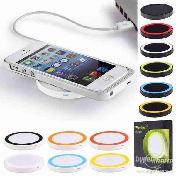 ! Bezdrátová QI nabíječka pro iPhone / Smartphone ! - foto 2