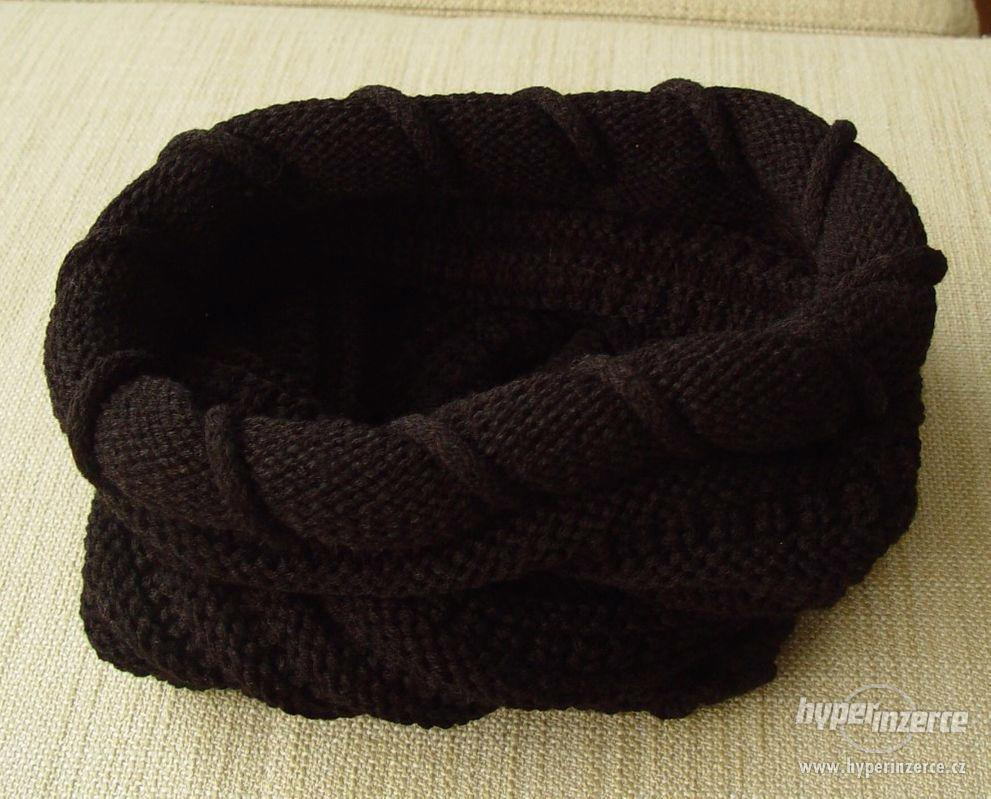 Nový dámský nákrčník, černá barva - foto 1