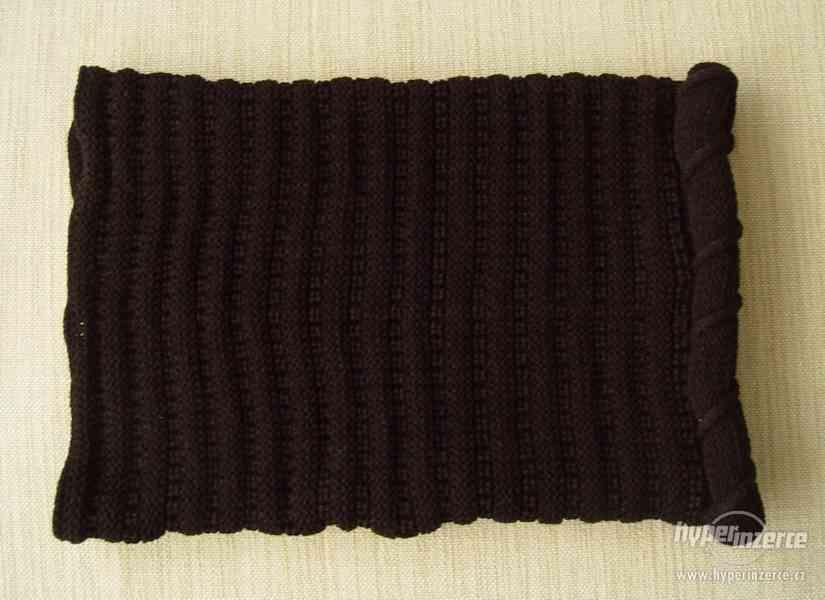 Nový dámský nákrčník, černá barva - foto 2