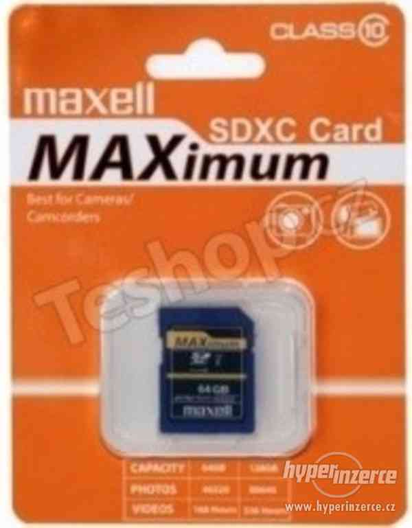 MAXELL MicroSDXC 64GB CL10 + adpt 854731 - foto 2
