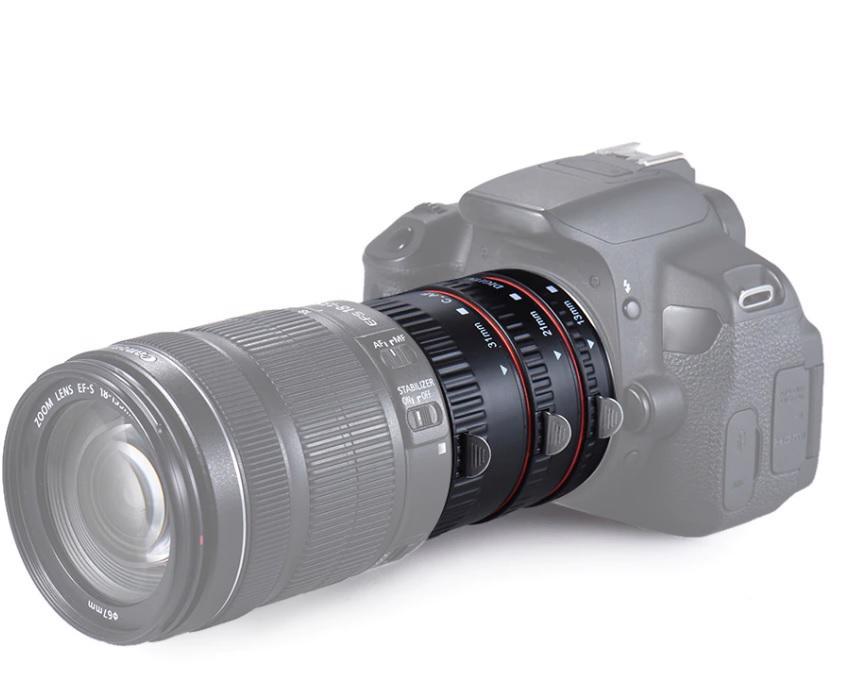 Canon EOS mezikroužky - foto 1