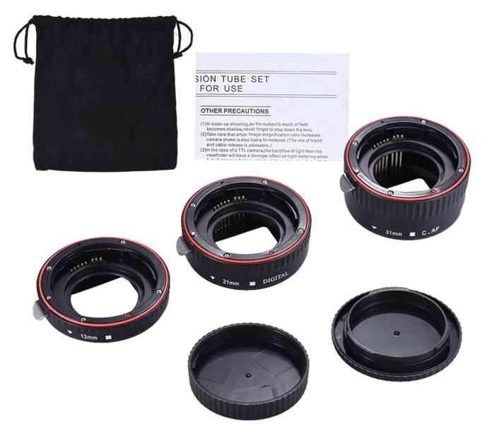 Canon EOS mezikroužky - foto 4