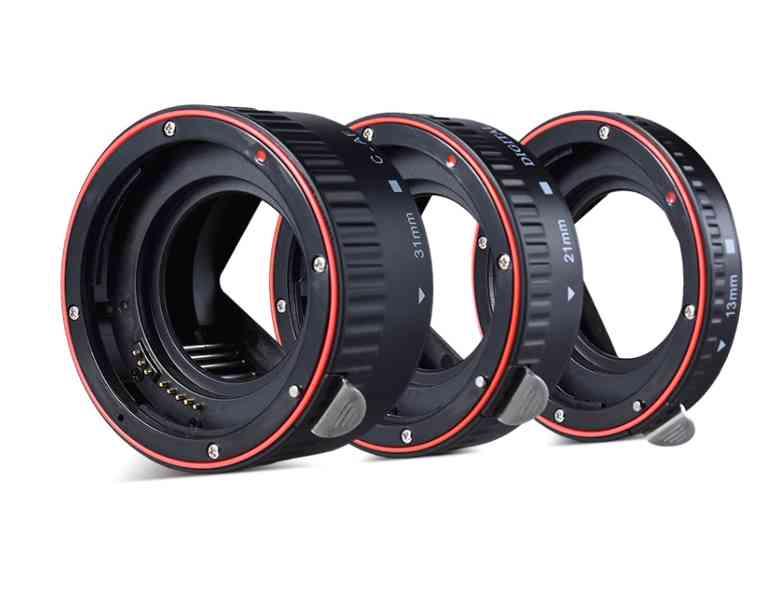 Canon EOS mezikroužky - foto 3