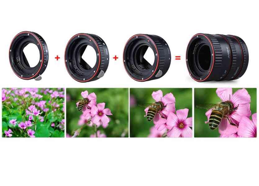 Canon EOS mezikroužky - foto 2