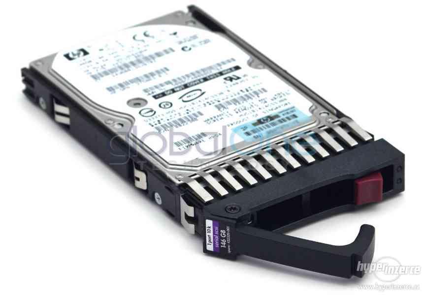disky HotPlug do HP serveru
