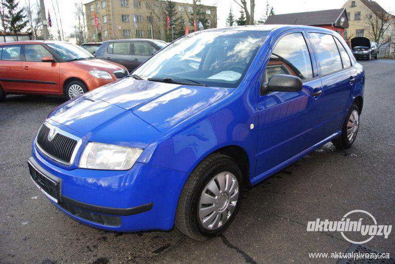 Škoda Fabia 1.4, benzín, r.v. 2002, el. okna, STK, centrál, klima