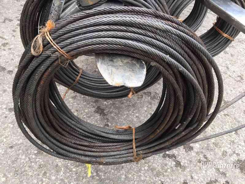 Ocelová lana s oky - foto 2
