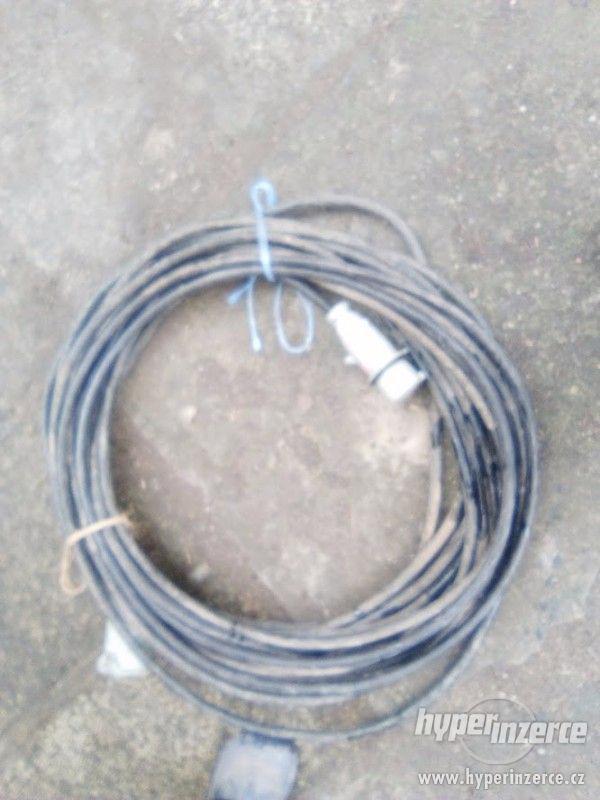 Prodlužovací kabel 380 V