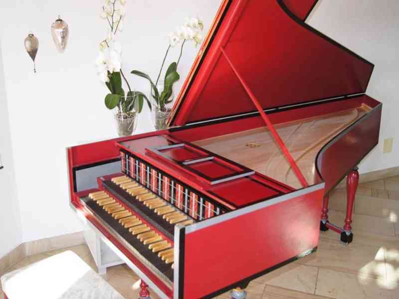 cembalo, spinet a virginal - foto 1