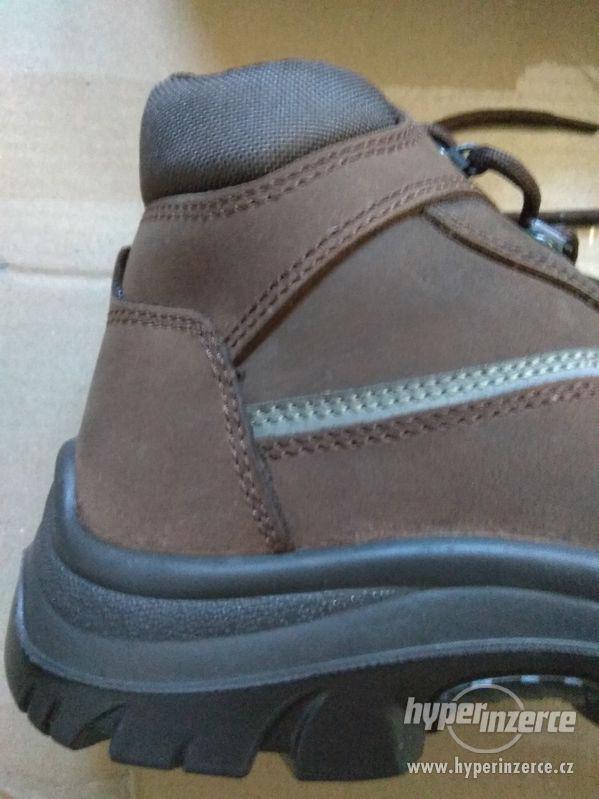 Nové pánské kožené pracovní boty Prabos č. 43 (9) - foto 5