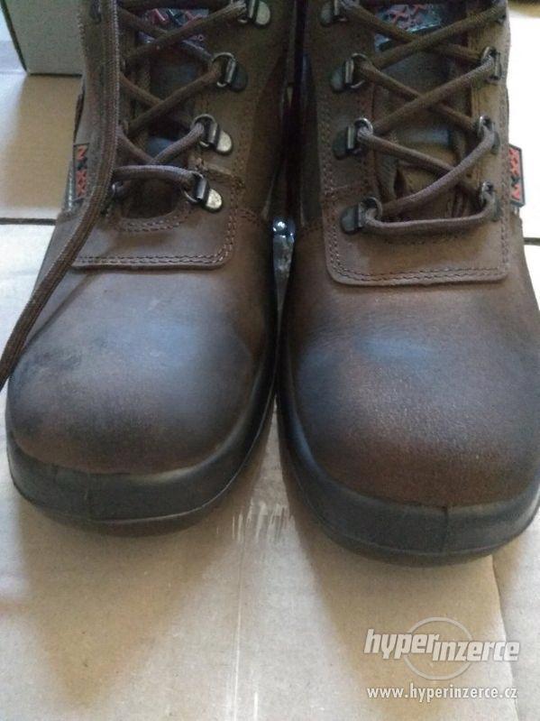 Nové pánské kožené pracovní boty Prabos č. 43 (9) - foto 10