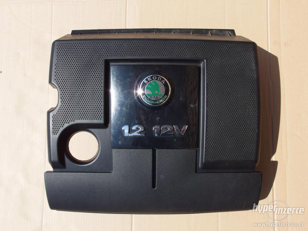 Kryt motoru Škoda Fabia 1.2 HTP, 47 kW, kód motoru AZQ - foto 1