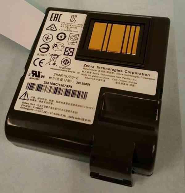 ZEBRA náhradní baterie pro QLn 420