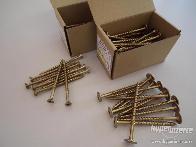 Stavební vruty - nově skladem - foto 1