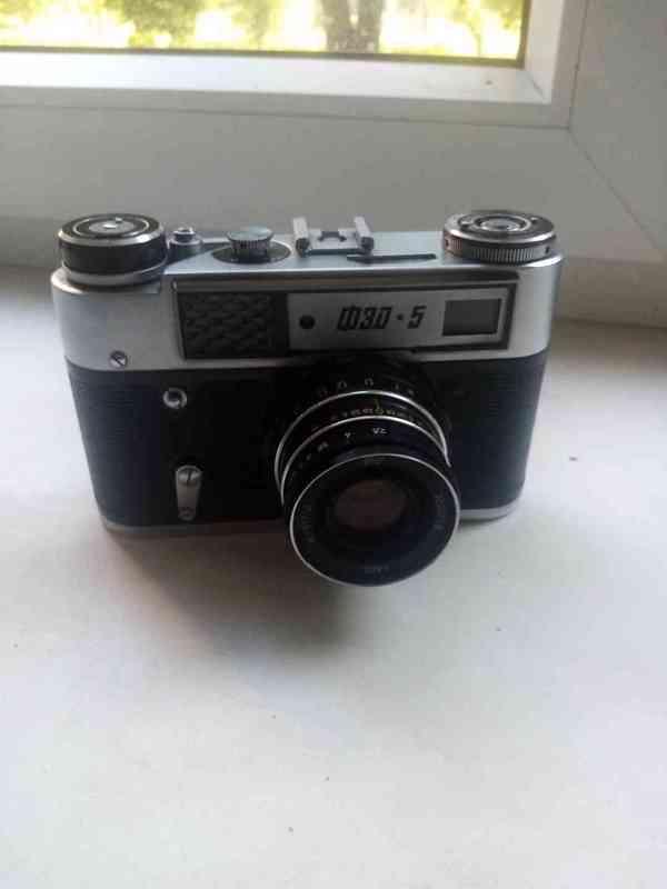 Fotoaparát fed  1980
