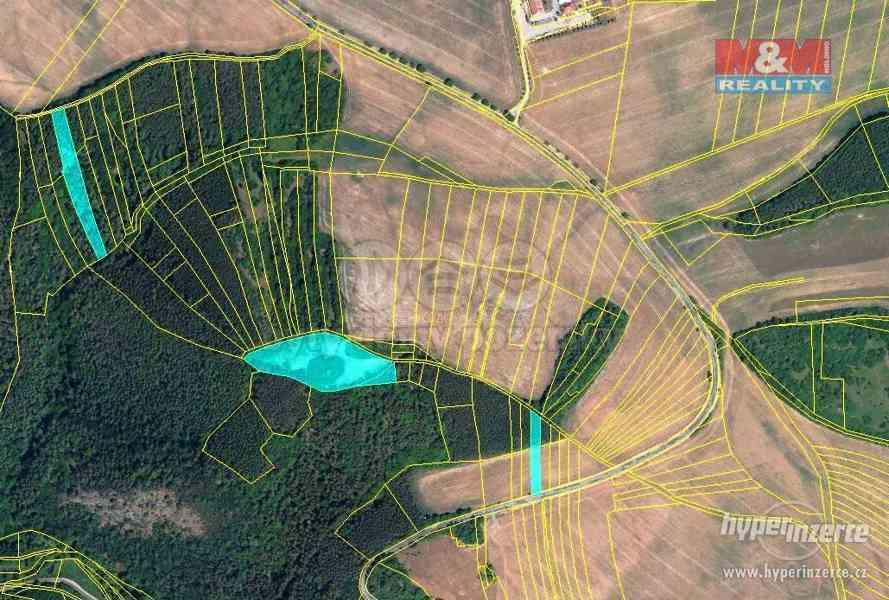 Prodej, lesy a orná půda, 14449 m2, Městečko u Křivoklátu