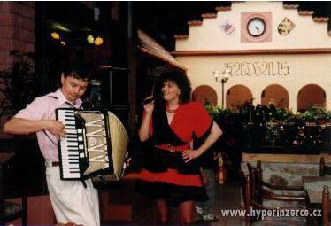 Kapela Duo Metropol - LIVE - Brno Hodonín Vyškov Břeclav - foto 5