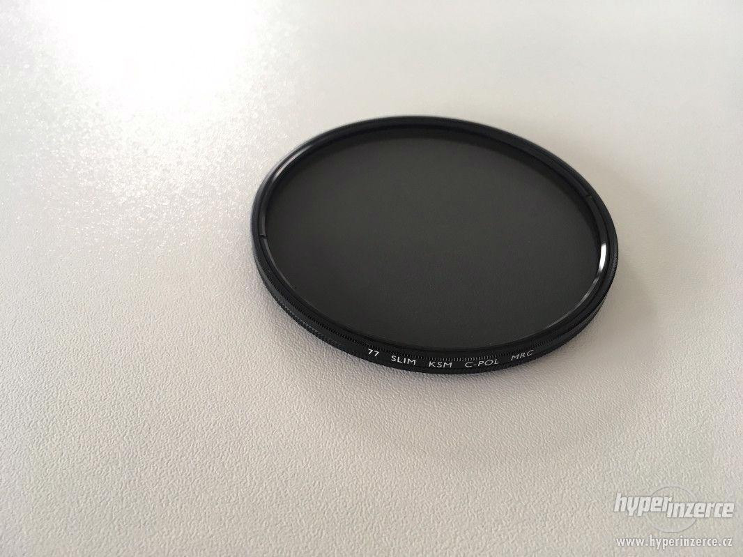 Polarizační filtr B+W PL-C MRC Slim 77 mm - foto 1