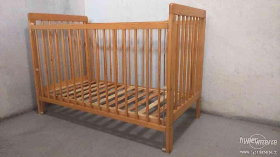 Dětská postýlka s matrací - foto 3