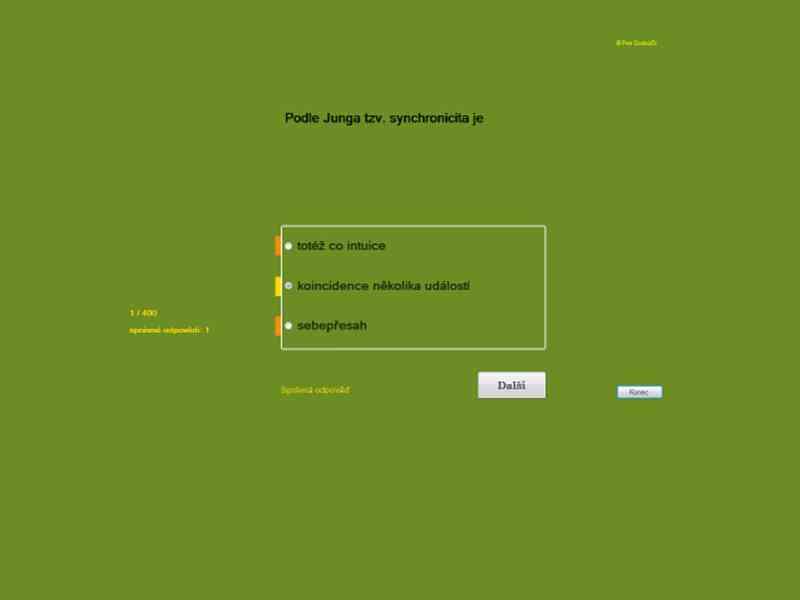 Psychologie přijímačky, výukový program Juve - foto 2