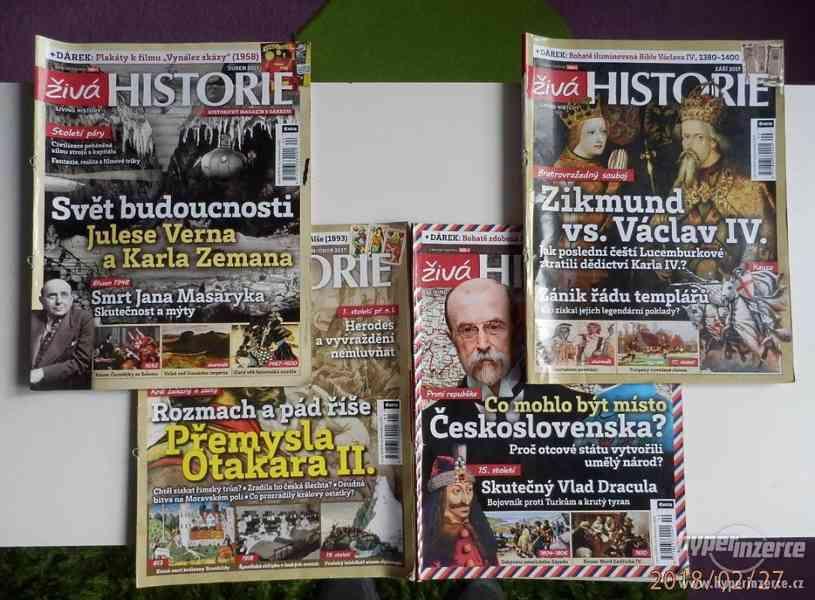 Časopisy ŽIVÁ HISTORIE-4ks