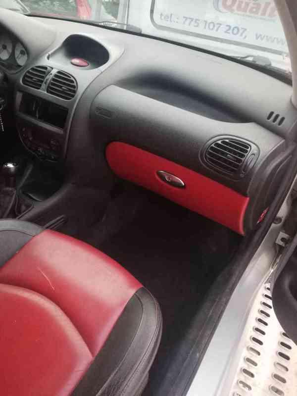 Kožený Sedačky Peugeot 206 SW
