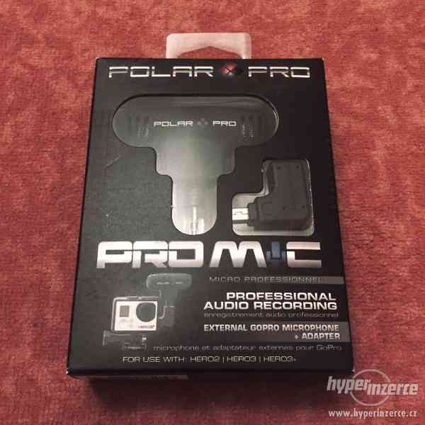 Polar Pro Mic - externí mikrofon pro GoPro a další