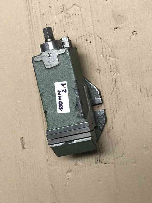 Strojní svěrák 80mm, 100mm - foto 2