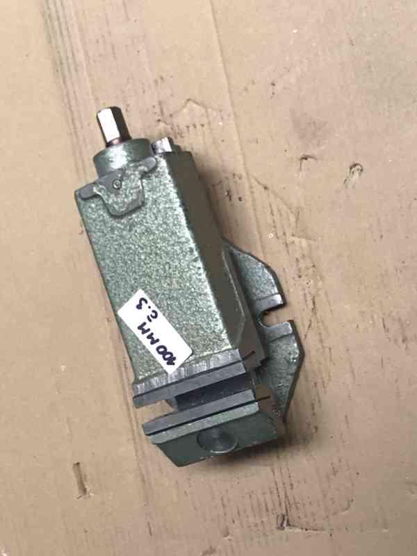 Strojní svěrák 80mm, 100mm - foto 4