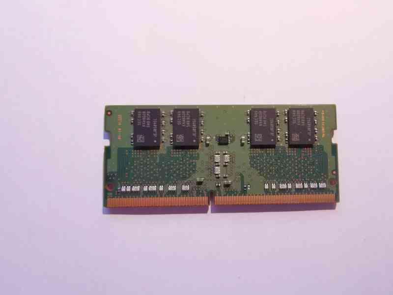 8GB RAM SODIMM DDR4 2133MHz paměť Samsung pro NTB - foto 2