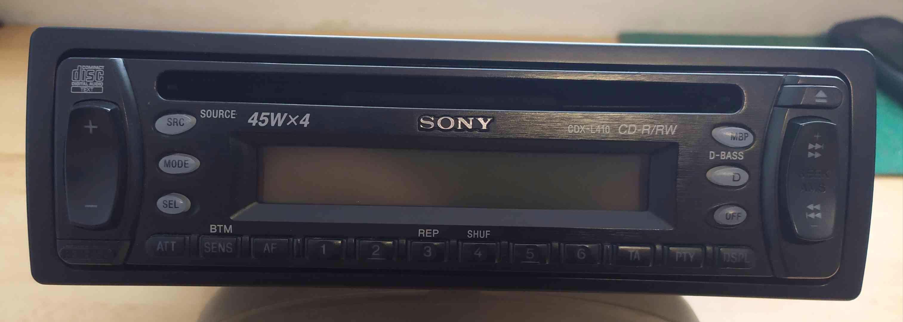 Autorádio Sony. - foto 1