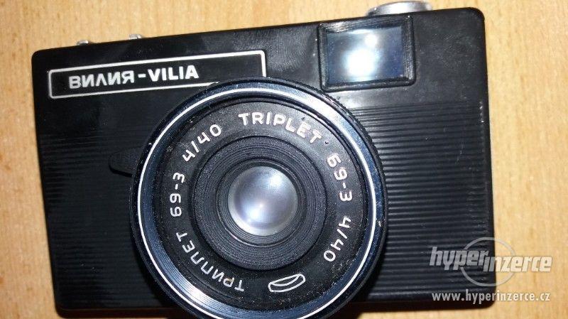 Prodám Fotoaparát zn.Vília - foto 1