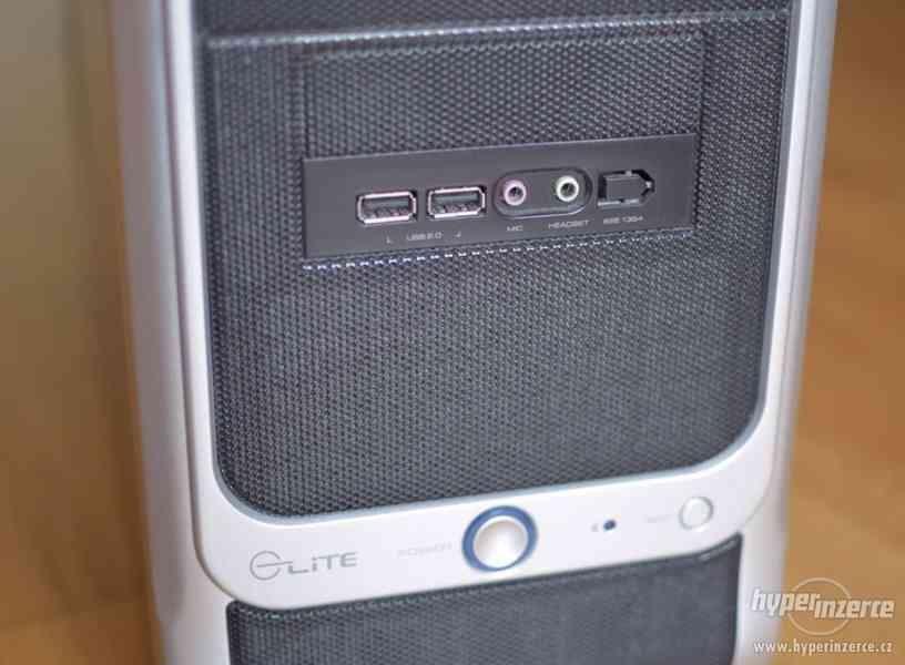 Herní PC Intel Core i5, 8GB DDR3, SSD, Nvidia GeForce GTS 2G - foto 2