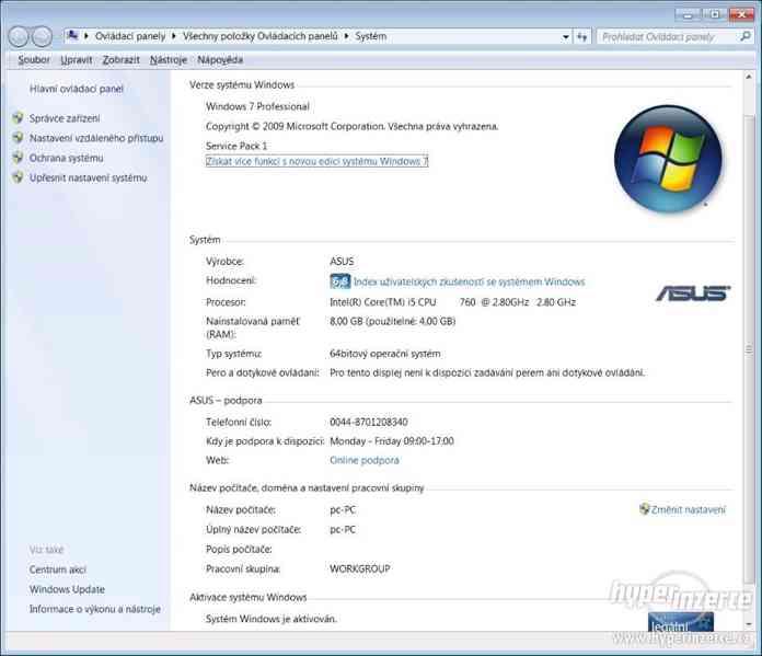Herní PC Intel Core i5, 8GB DDR3, SSD, Nvidia GeForce GTS 2G - foto 6