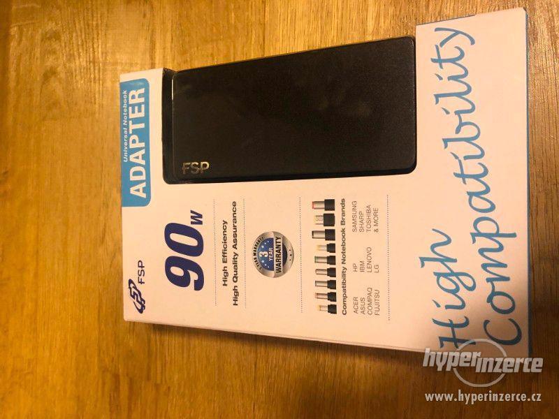 Univerzální cestovní nabíječka pro notebook - nová