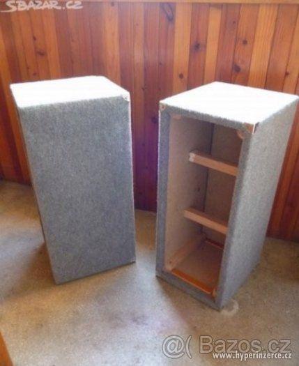 Reprobedny - Sloupové skříně na reproduktory 2x - DIY