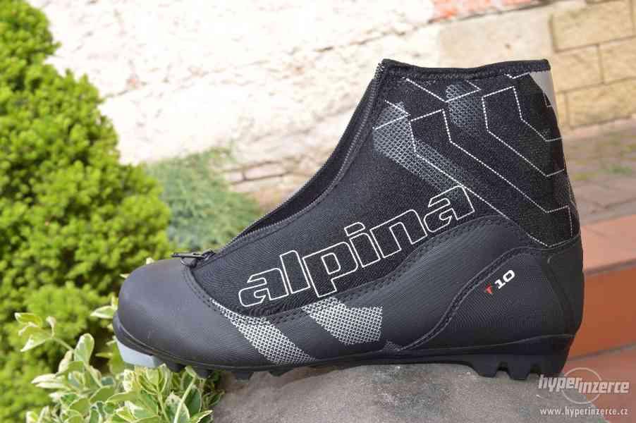 Boty na běžecké lyžování ALPINA