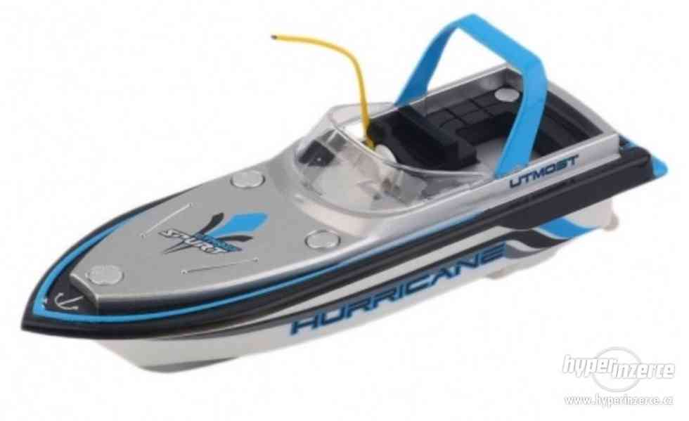 Mini RC loďka na dálkové ovládání 150mAh nová